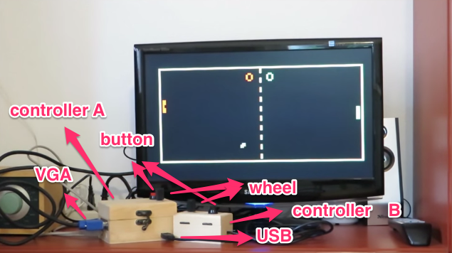 Arduino color game bomber using vga library