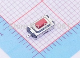 Free-shiping-100pcs-3-6-2-5-mm-3-6-2-5H-SMD-red-Button-switch