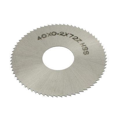 Free-Shipping-HSS-72-Teeth-40mm-x-0-2mm-x-13mm-Circular-Slitting-Saw-Blade-Cutter