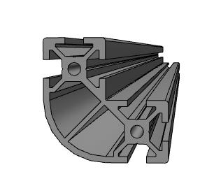 5シリーズ R形状 40×40×20mm|ミスミ|MISUMI-VONA【ミスミ】