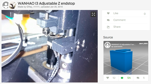 WANHAO_I3_Adjustable_Z_endstop_by_GRay_111111