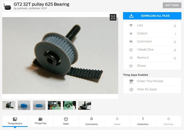 GT2_32T_pulley_625_Bearing_by_junkhack_-_Thingiverse