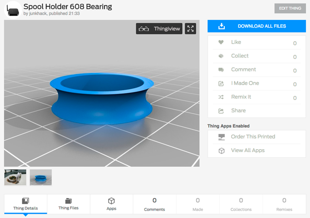 Spool_Holder_608_Bearing_by_junkhack_-_Thingiverse