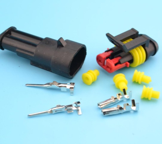 5kits-Flame-retardancy-2P-auto-connector-waterproof-automotive-Wire-Connector-Plug-2-Pins-Electrical-Car-Motorcycle